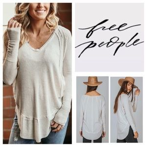 Free People Catalina Thermal Tunic.  NWT.
